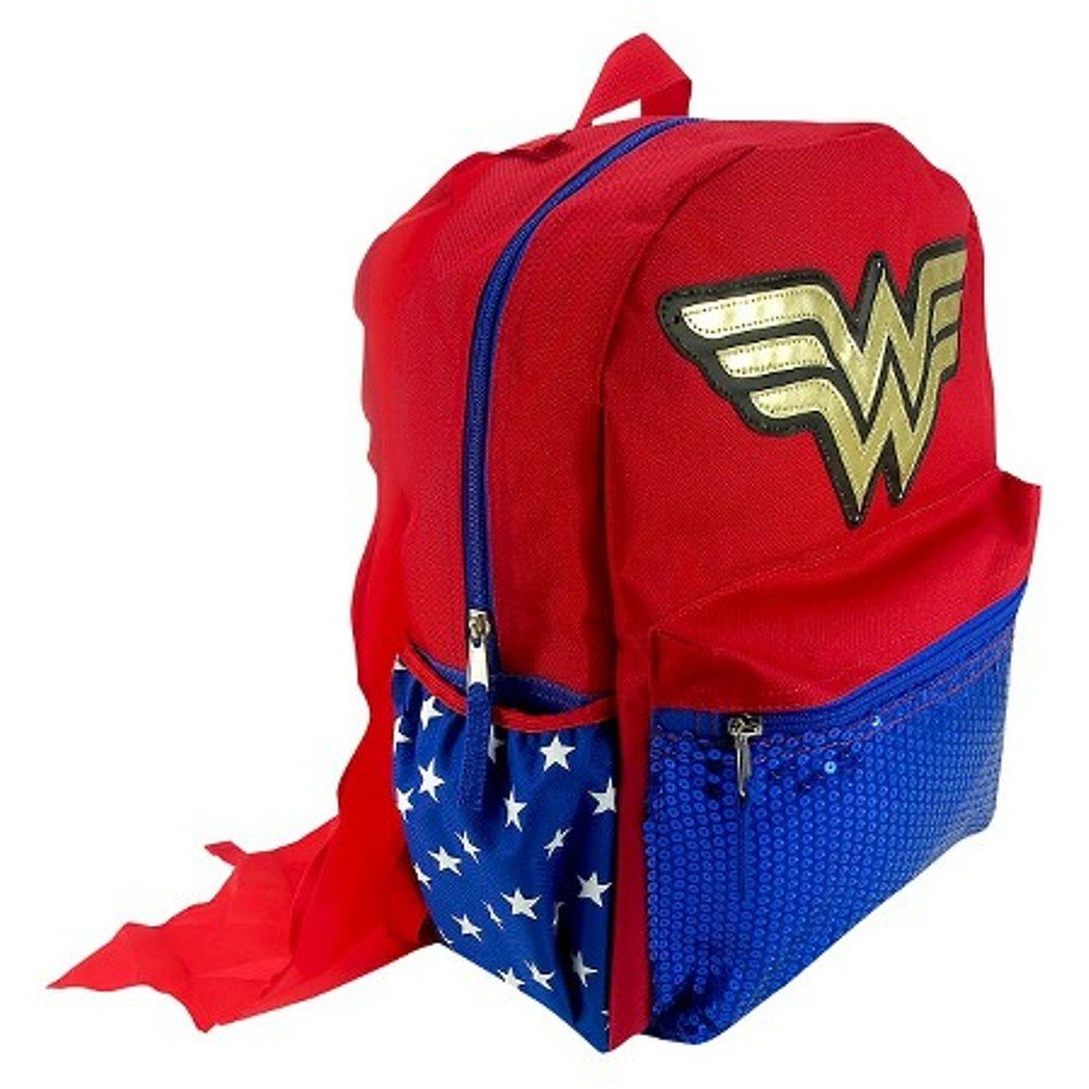 DC Comics Wonder Woman Light-Up 16 Backpack with Detachable Cape by DC Comics B01I3TTINY