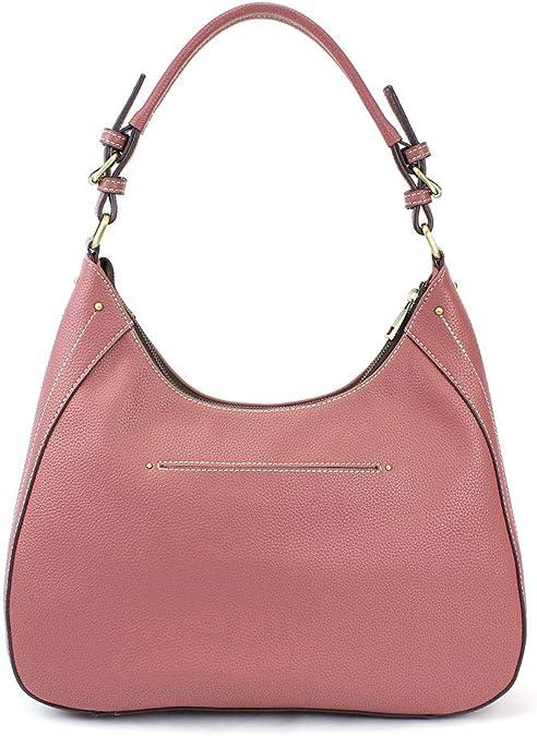 Kommschonff Women Messenger Bag Handbag Cross-Body Bags for Ladies Satchel Elegant Hand Bag with Shoulder Strap,Pink