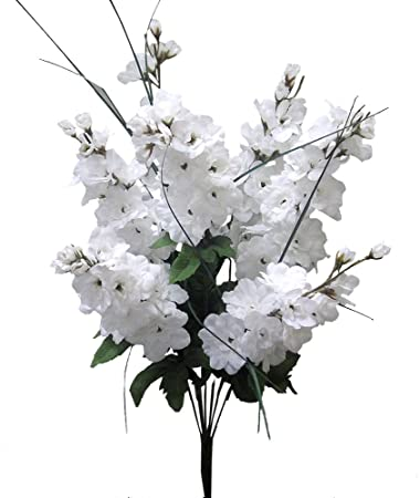 Amazon Admired By Nature Artificial Full Blooming Delphinium