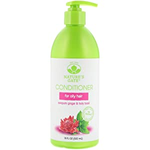 Nature's Gate Volumizing Conditioner, Awapuhi Ginger + Holy Basil 18 oz (Pack of 2)