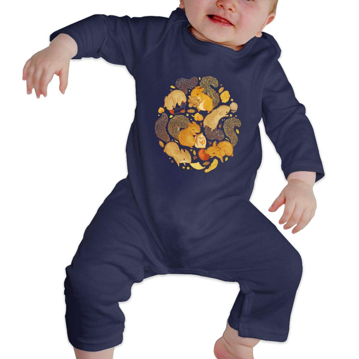 nordic runes Squirrel Baby Onesies Toddler Baby Girl//Boy Unisex Clothes Romper Jumpsuit Bodysuit One Piece