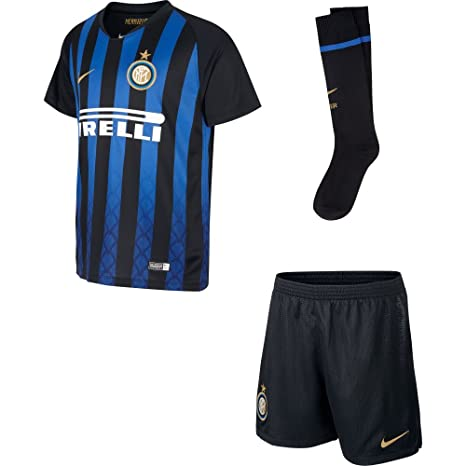Nike Inter Home Kit, Uniforme de fútbol niño, niño, 919310 ...