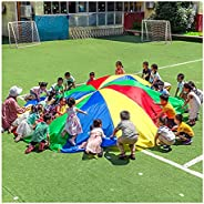 Play Parachute Kids Parachute Games, Outdoor Garden Parent-Child Interactive Games, Parachute Toys - Exercise