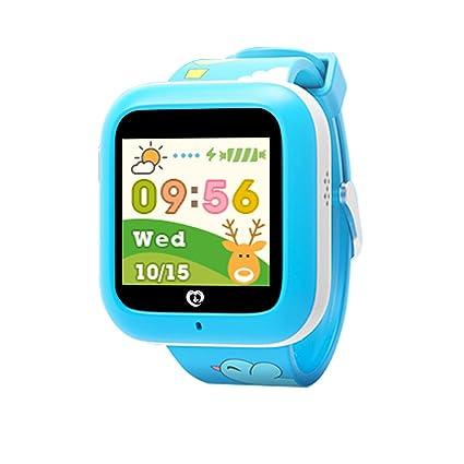 Relojes Inteligentes Para Niños Perros Con Pantalla Color Telefono Localizador Gps Rastreador Bluetooth Para Iphone Android