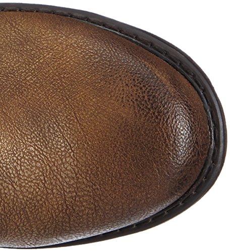 Rieker 98956-25 - Botas Efecto Arrugado Mujer Marrón (Nut/hell Braun)