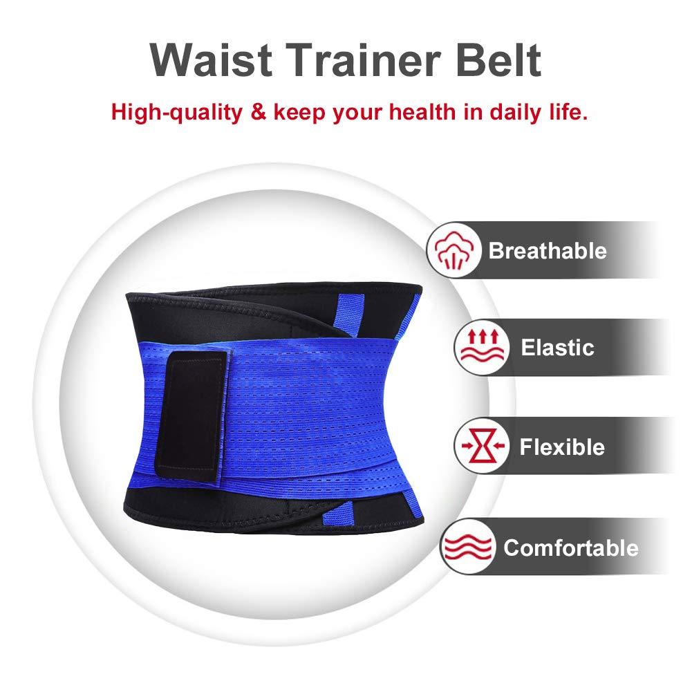 Slimming Body Shaper Belt 2019 Upgrated Waist Trainer Belt//Waist Trimmer for Women Body Shaper Waist Cincher Belt