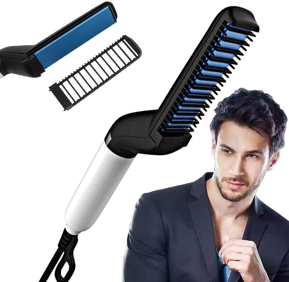 VUBA Quick Beard Straightener Hair Styler Comb