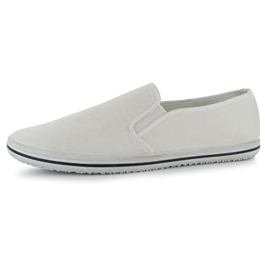 c4d377f02bba62 Image Unavailable. Image not available for. Colour: Slazenger Mens Mens  Canvas Slip On Shoes ...