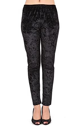 Beau Corner Women s Velvet Stretch Leggings Tight Pants at Amazon ... f4375800b