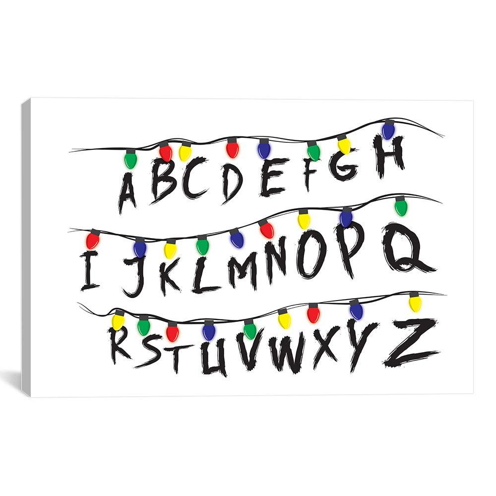 617c1c57260 Amazon.com  Stranger Alphabet Artwork