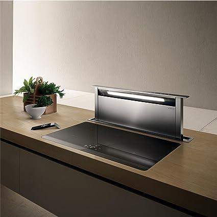 Campana Cocina Elica Escamoteables Adagio negro 90 cm: Amazon.es: Grandes electrodomésticos