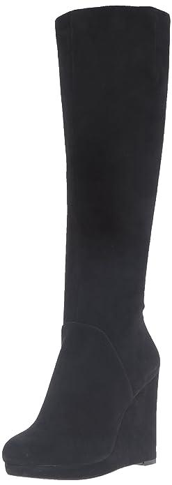 d35c0af21b2 Nine West Women s Harvee Suede Knee-High Boot