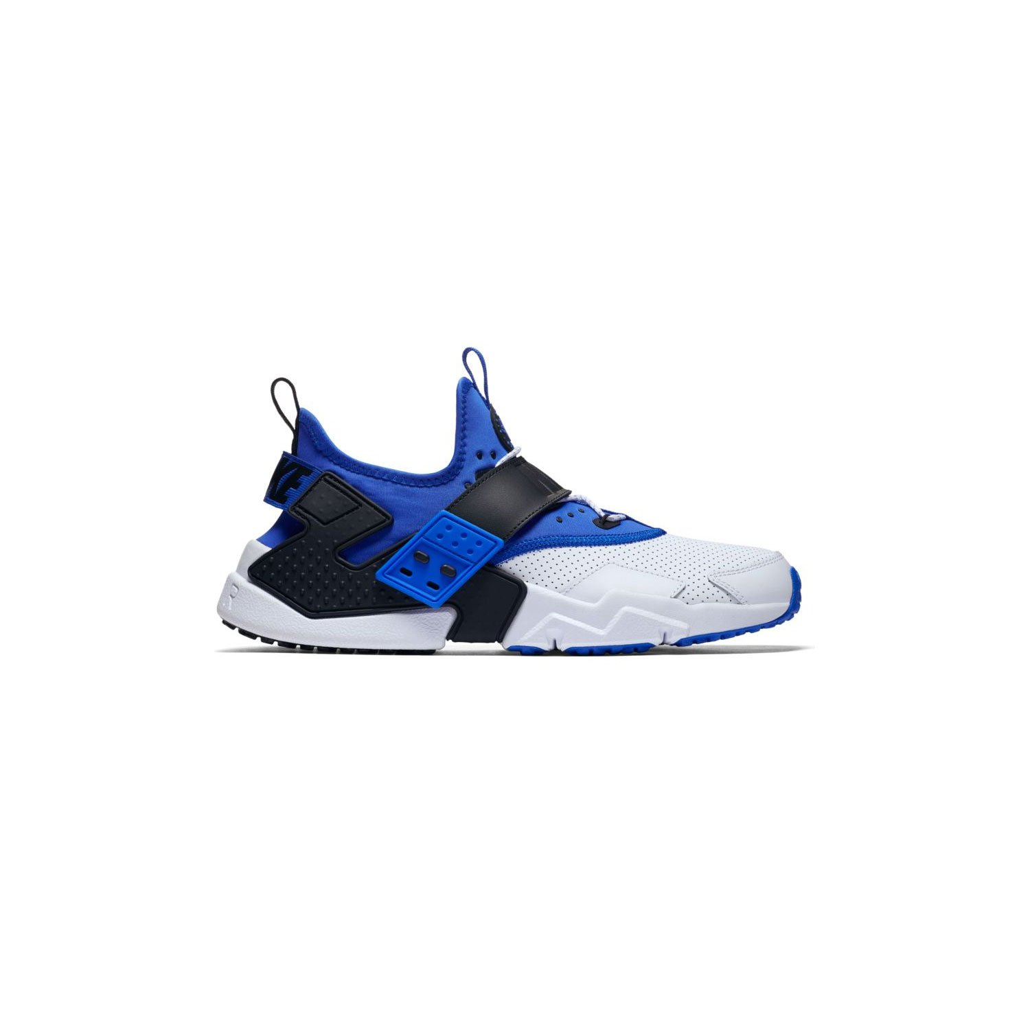online store 88e5b 899a2 Amazon.com  Nike Mens Air Huarache Drift WhiteBlue AH7335-103 (Size  10.5)  Fashion Sneakers