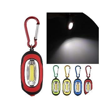 Llavero con Linterna de 3 Modos, lámpara de PVC, Color Verde ...