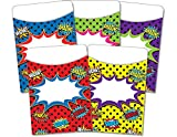 Teacher Created Resources Superhero Library Pockets, Multi-Pack (5647)