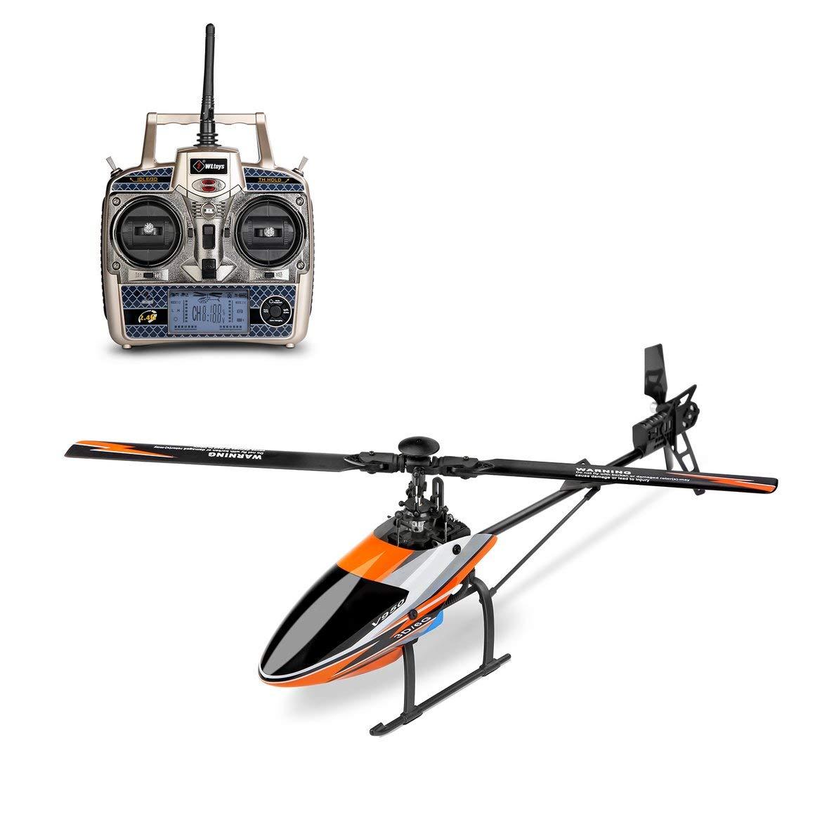 ToGames WLtoys V950 2.4G 6CH 3D / 6G Hochfrequenz Bürstenloser Motor RTF RC Hubschrauber Stärkerer Windwiderstand