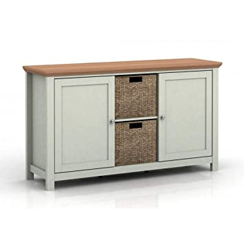 Xpress Delivery Cotswold Sideboard In Grey Amazon Co Uk Kitchen Home