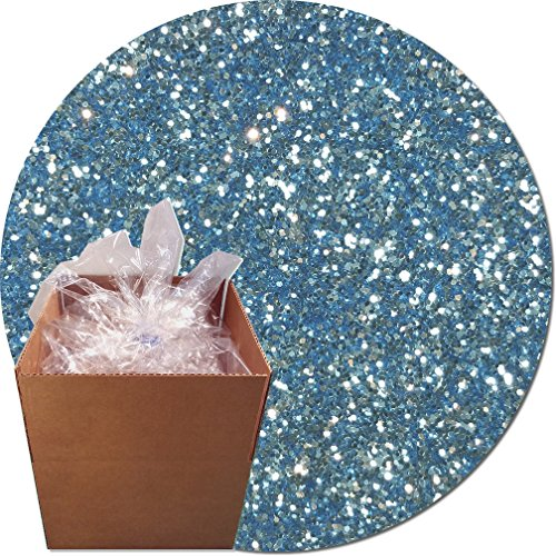 Glitter My World! Craft Glitter: 25lb Box: Light Blue Luster by Glitter My World!