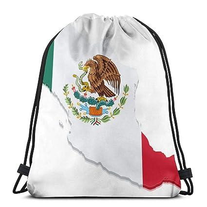 Ector Flag Map Mochila con cordón Mochila Mochilas Bolsas de ...