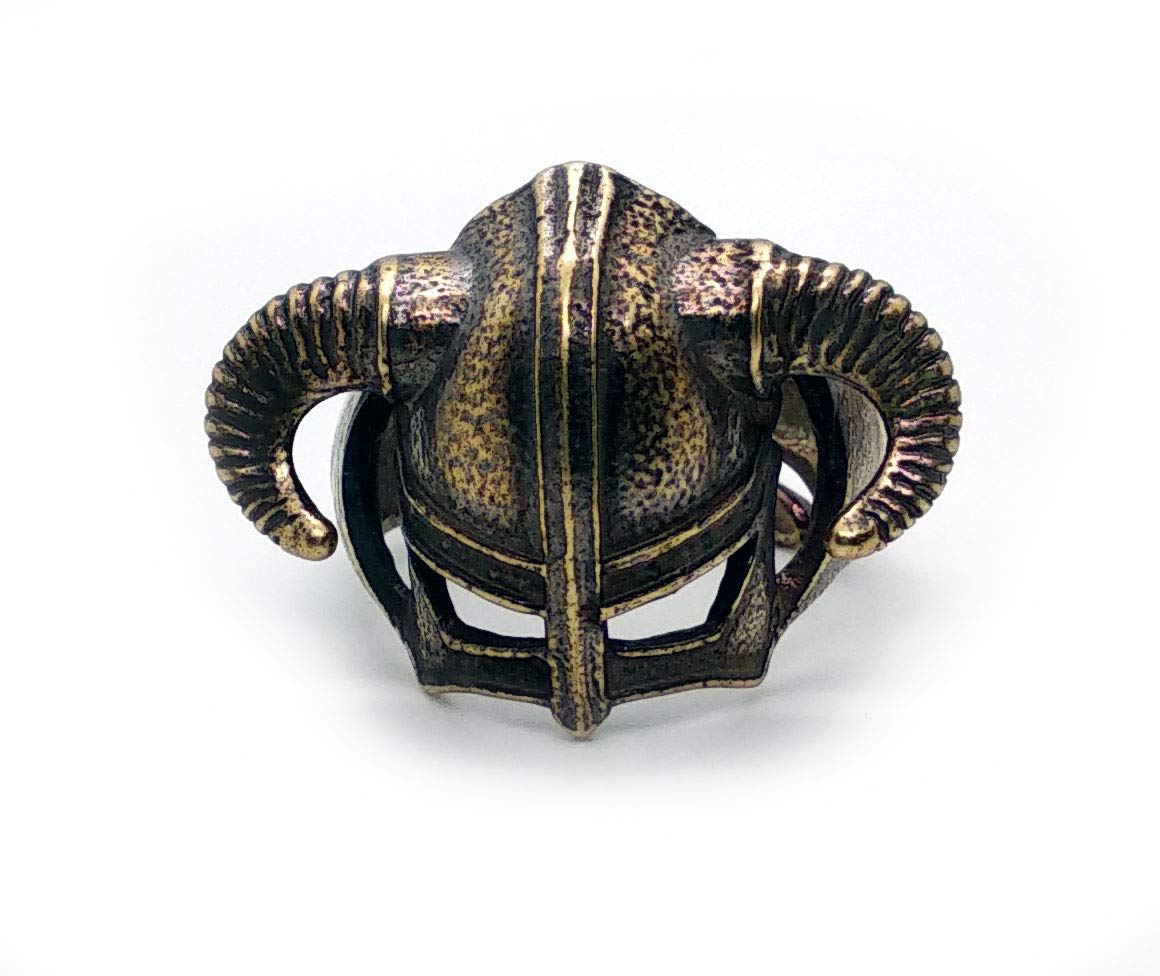 Amazon Com Dragonborn Brass Ring Skyrim Handmade