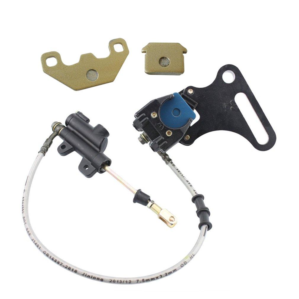 Bike Brake System Brake Pad Break Calipper Rear Master Cylinder Black For SDG SSR Coolster Orion Dirt Pit Bike by JL JIANGLI LEGEND