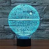 3D Illusion Platform Night Lighting Touch Botton 7