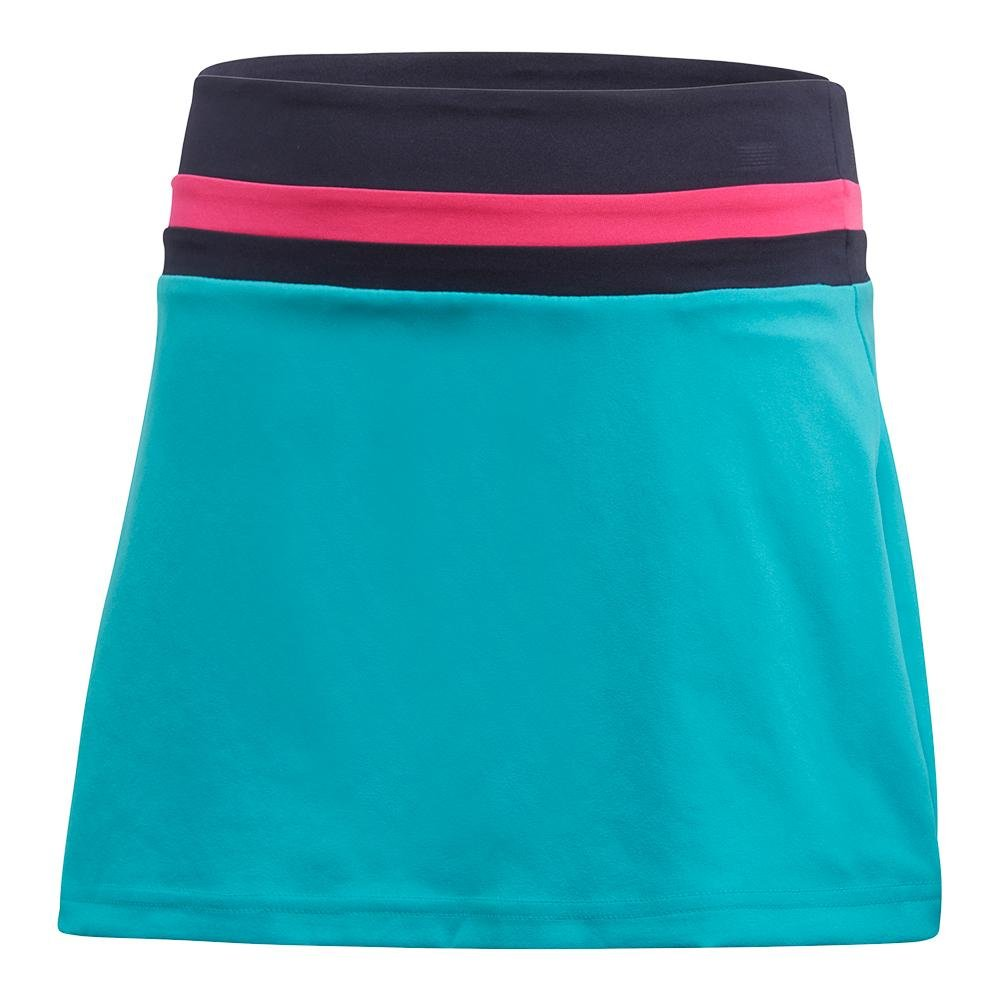 adidas Tennis Club Skirt, Hi-Res Aqua, Small