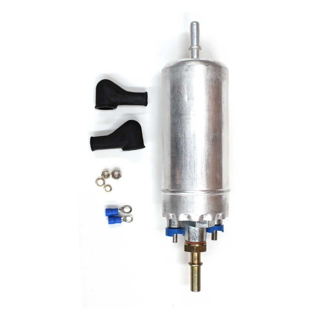 CUSTOM New Electric Externally Mount Inline Intank Fuel Pump With Installation Kit E2000 by CUSTOM