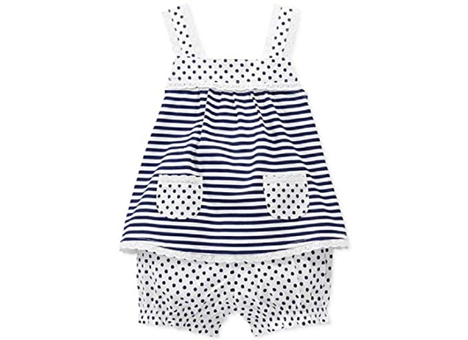 f1299920a Amazon.com: First Impressions Baby Girls' 2-piece Striped Top ...
