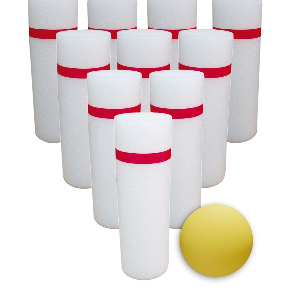 Knockdown Skittles Set Of 10 by Sportsgear US