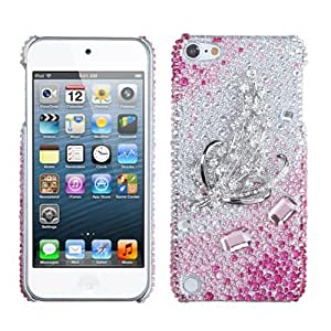 Snap on Cover Fits Apple iPod Touch 5 (5th Generation) Crystal Harvest Premium 3D Diamond (Please carefully check your device model to order the correct version.)