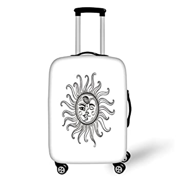 Amazoncom Travel Luggage Cover Suitcase Protector Sun Doodle
