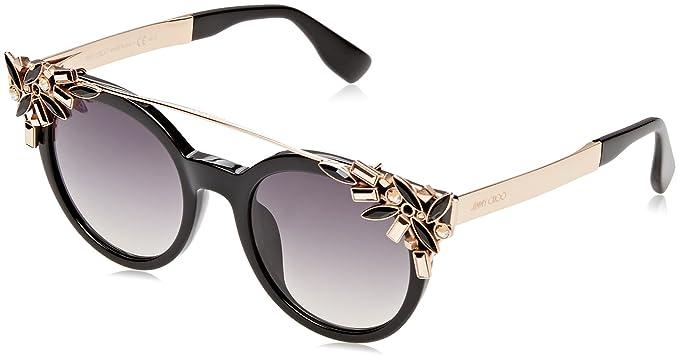 099dd60758 Jimmy Choo Vivy S Sunglasses Black Dark Gray Gradient at Amazon ...