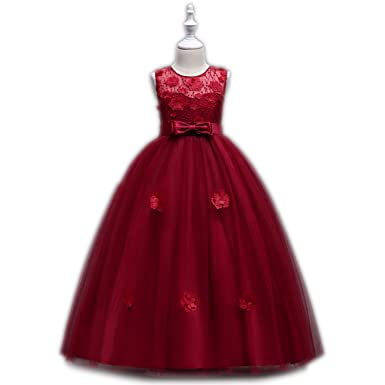 2112f26a7c46d Amazon.com: Girls Dress 2018 New Vestidos Princess Dresses for Girls ...
