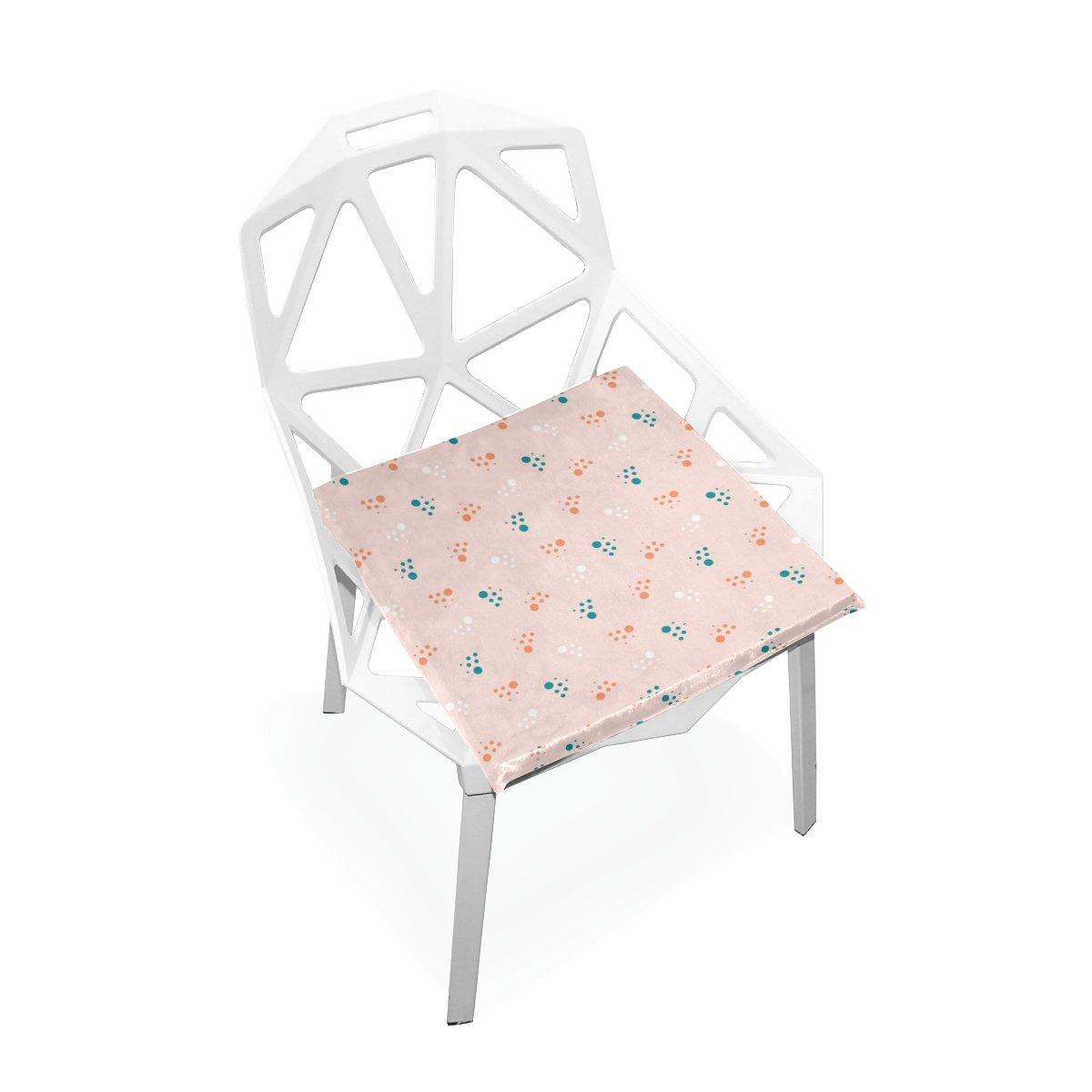 Amazon com xinxin seat cushion pink feet cushions soft chair pad nonslip chair pads cushions home decor for patio furniture dining room 16 x 16 garden