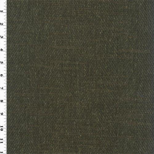 Trevi Black Zegna Herringbone Home Decorating Fabric, Fabric by The Yard