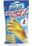 Duzzit Household Gloves, rubber gloves, 2 pairs, MEDIUM