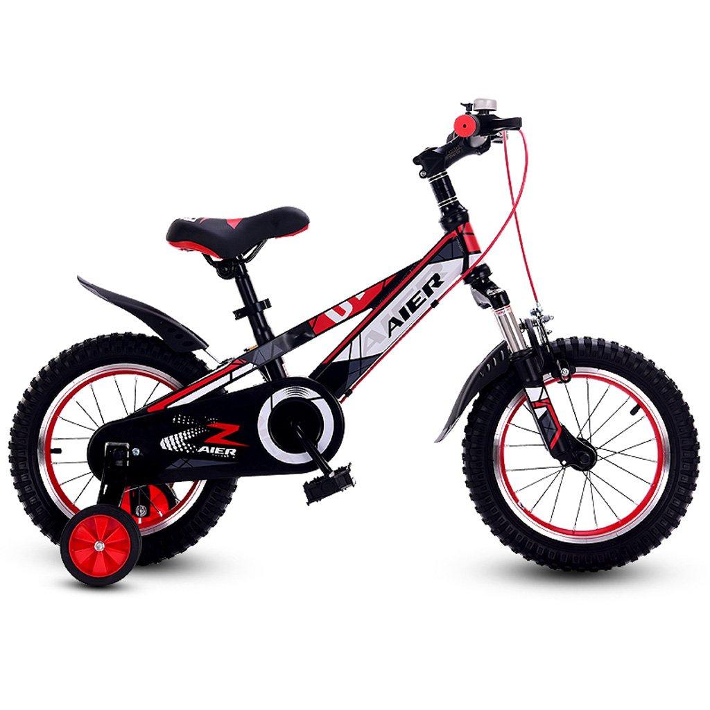 子供の自転車12/14/16インチ衝撃吸収男性と女性の子供の自転車2~8歳の赤ちゃんの自転車赤 ( Size : 16 inch red ) B07DP355GT