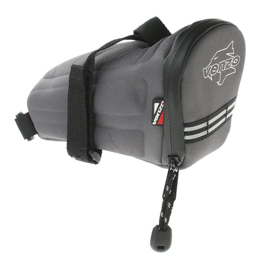 Venzo 600D Polyester Bike Bicycle Saddle Bag