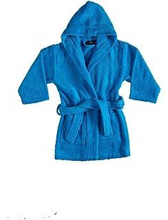 Bagno Milano Kids - Unisex Hooded Bathrobe – 100% Organic Turkish Cotton -  Boys - 8a7d31d43