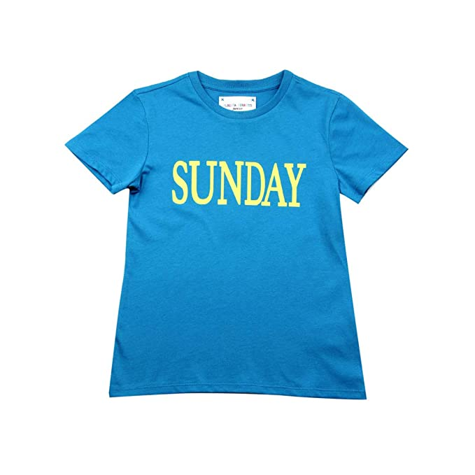hot sale online b8fe2 a103e Alberta Ferretti Junior T-Shirt Rainbow Week Bambino Kids ...