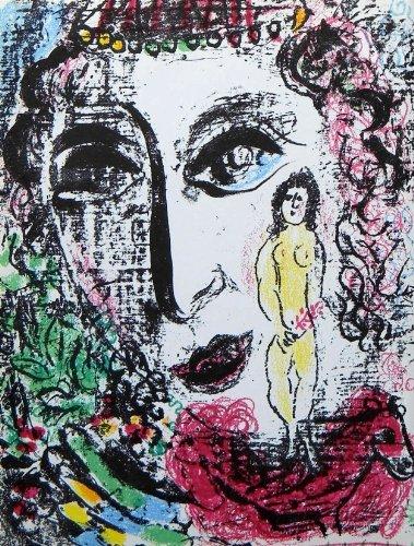 Marc Chagall original lithograph