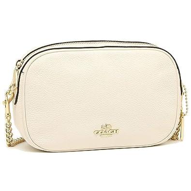 b269321e778d Coach Womens Handbag, Pebbled Leather, Isla Crossbody Bag with Chain,  F29000 (Chalk): Handbags: Amazon.com