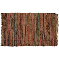 Sturbridge Country Rag Rug in Spice 24 x 72