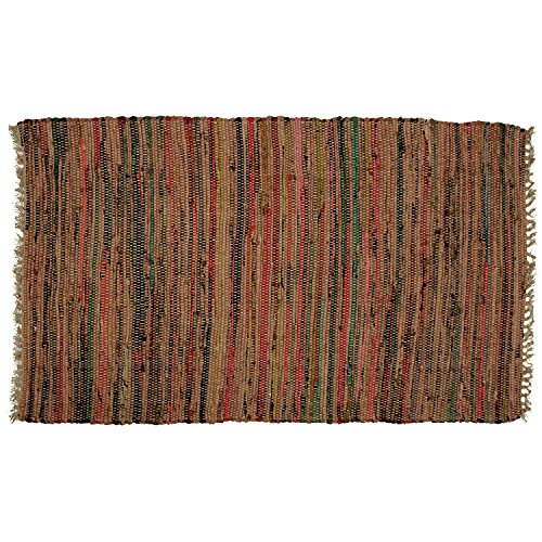 Amazon.com: Hand Woven Country Rag Rugs In Spice, 2 X 3