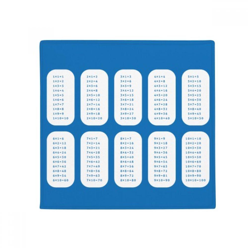 DIYthinker Multiplication Table Number Study Math Anti-Slip Floor Pet Mat Square Home Kitchen Door 80Cm Gift