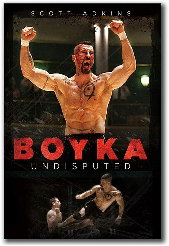 Carteles Boyka Undisputed 4 Fighting Art Poster Canvas ...