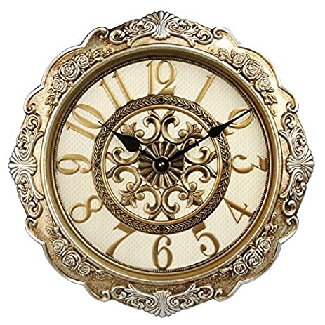 22 Inch Super Large Size Living Room Decorative Wall Clocks Retro Vintage Non Ticking
