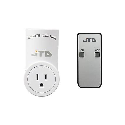 JTD 1 Pack Energy Saving Auto-programmable Wireless Remote Control ...