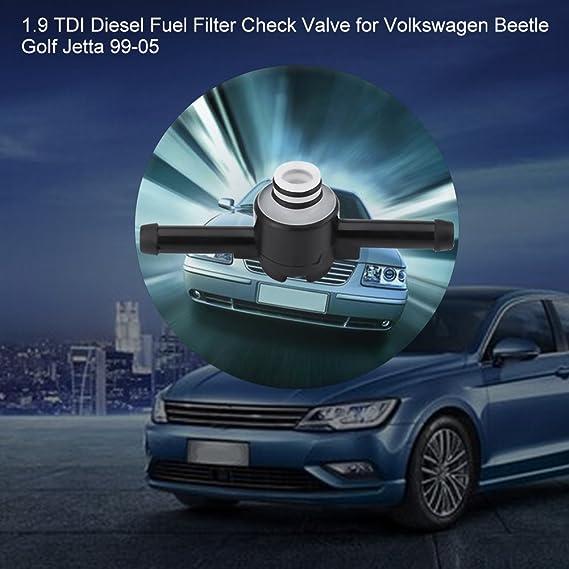 Amazon.com: Fuel Filter Check Valve, 1.9 TDI Diesel Fuel Filter Check Valve  for Volkswagen Beetle Golf Jetta 99-05 1J0 127 247 A: AutomotiveAmazon.com